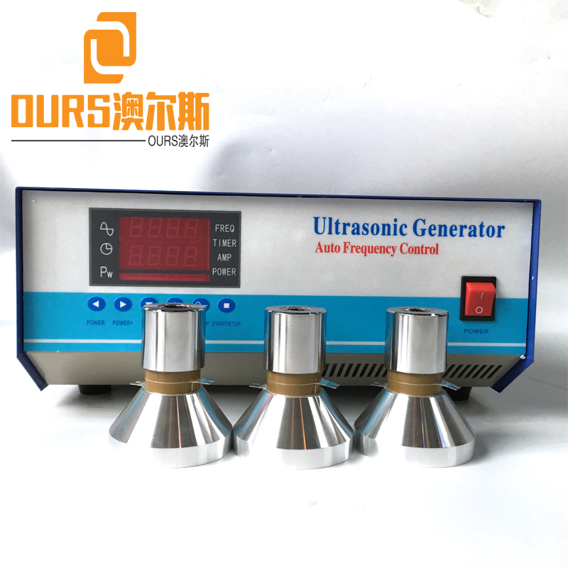 28KHZ/83KHZ/130KHZ 1200W 220V Multi Frequency Ultrasonic  Generator for Submersible Ultrasonic Component Cleaning Machine