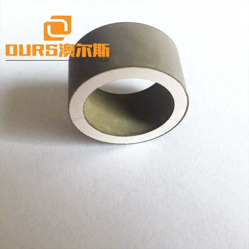 Piezo Element 16x14x18mm Tube Shape Piezoelectric Ceramic Materials For Ultrasound Vibration Device