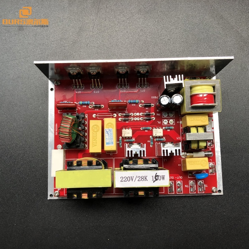 200w low power ultrasonic cleaning generator board 28Khz switching transducer