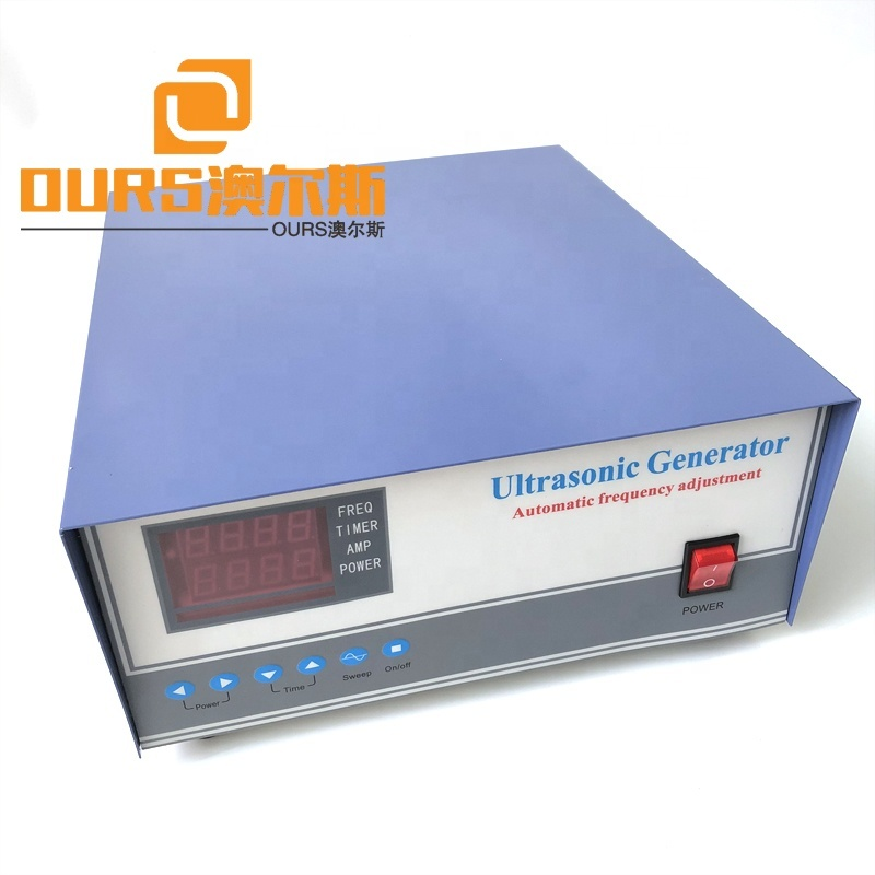 Immersion Transducer Engine Piezoelectric Digital Ultrasonic Generator Drive 135K High Frequency Industrial Power Generator