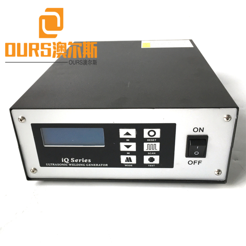 2000W 20KHZ Ultrasonic Welding Generator For Super High Speed Folding Dust Face Mask Making Machine