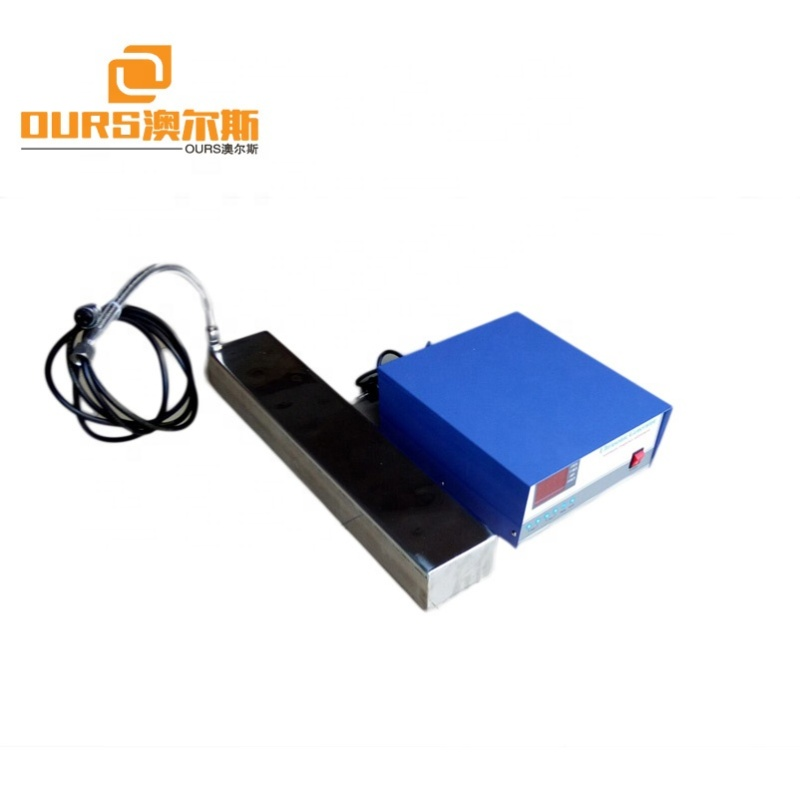 1000W Industrial ultrasonic vibration plate input type ultrasonic vibration plate cleaning machine installed vibration