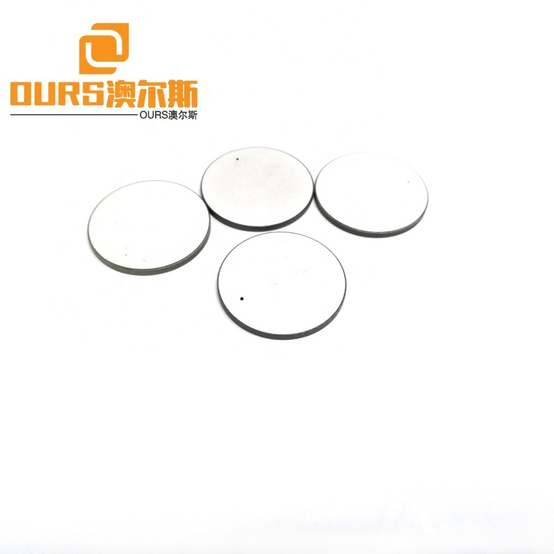 Factory Customized Disc Shape Piezoelectric Ceramic For Vibration Sensor/Ultrasonic Element 30x2MM Piezoceramic PZT Material