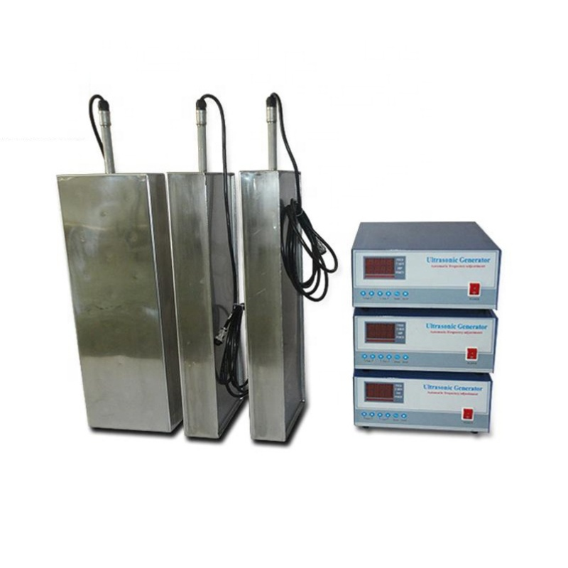 120KHz Ultrasonic Frequency Transducer Immersible Ultrasonic Transducer Plate With Piezoelectric Ceramic Ultrasonic Transducer