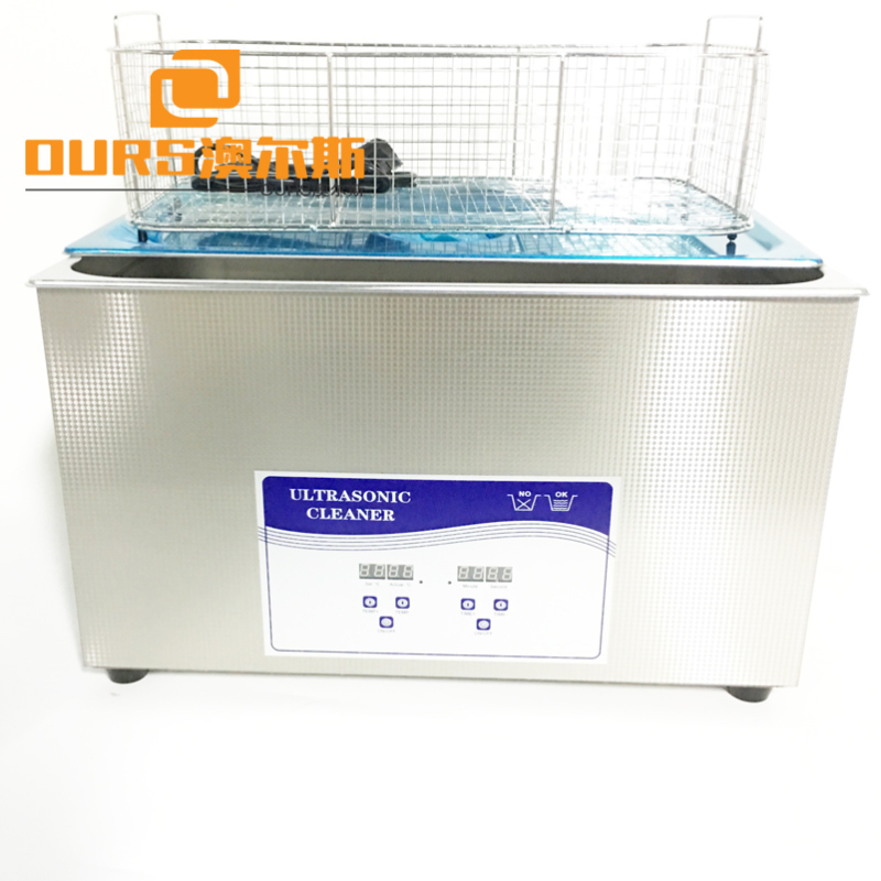 20L  Ultrasonic Cleaning Machine 40khz frequency Ultrasonic Gun Cleaner Stainless Steel Firearms Grease Remove
