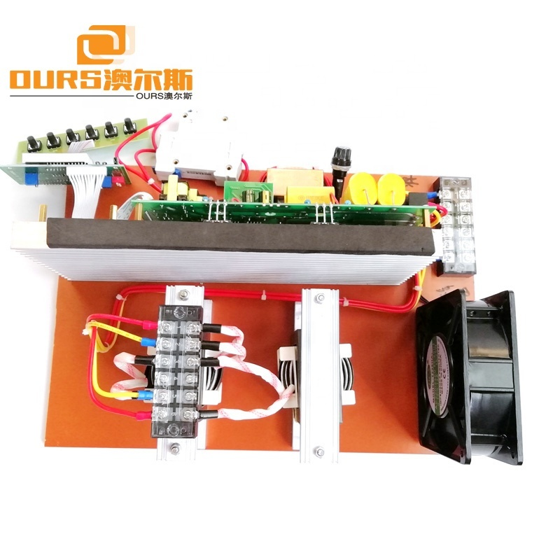 Stable Quality 40KHz 1200W Ultrasound Washing Machine Circuit Board Digital Ultrasound Cleaning Generator Circuit