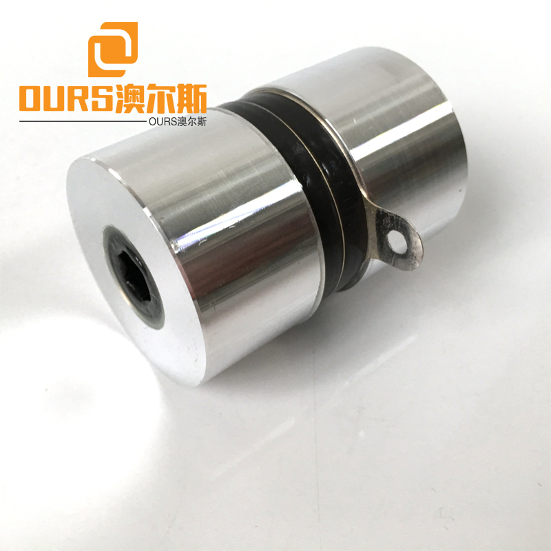 High Frequency 120KHZ 60W PZT4 Ultrasonic Transducer For Ultrasonic Cleaning Equipment