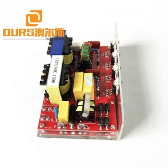 100 watt  frequency 25khz china supplier Ultrasonic PCB  with 1 transducers