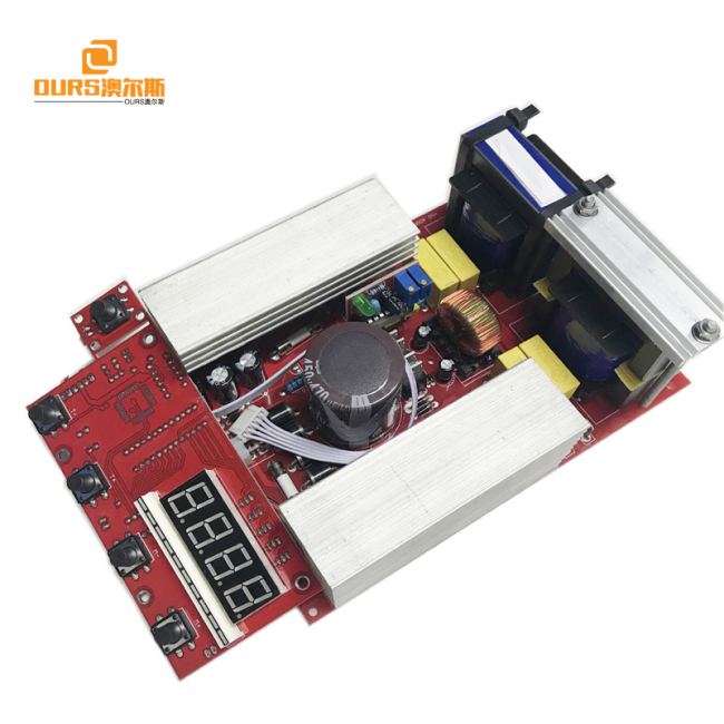 Ultrasonic generator PCB +display board 500W,Ultrasonic frequency current adjustable Variable for Frequency Ultrasonic Generator