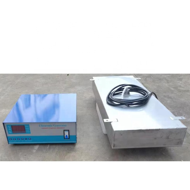 25KHz 4000W Wall Type Immersible Ultrasonic Transducer SS316 Vibration Plate For Rust Removal Cleaning Tank