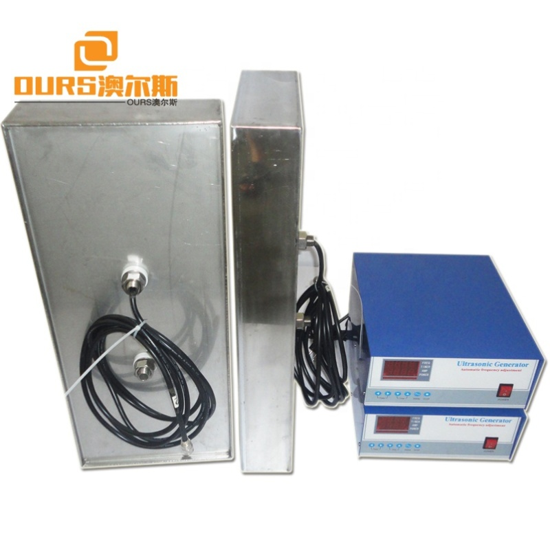 28KHz/40KHz 1800W Side Type Immersible Ultrasonic Transducer For Auto Parts Cleaning