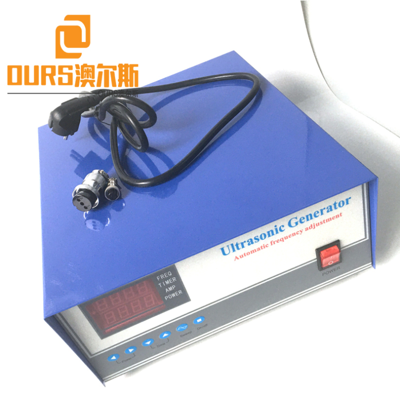 28KHZ 600W Ultrasound Driving Power Supply For Cleaning Electroplated Hardware