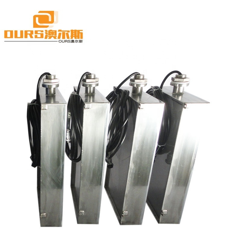 Immersion Type Submersible Ultrasonic Transducer 40KHz For Industrial Cleaning Tank