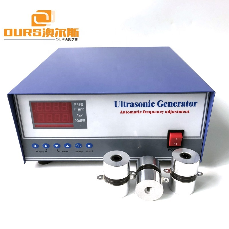 FCC And CE Ultrasonic Frequency Generator Box 600W Ultrasonic Power Generator For Industrial Cleaning
