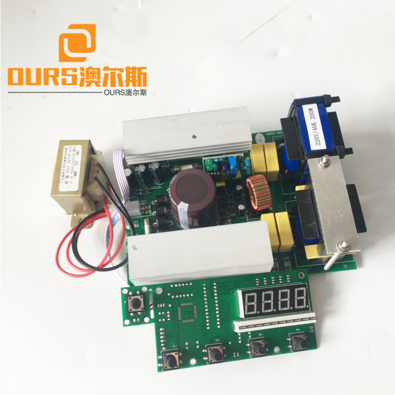 500W  28KHZ  Ultrasonic Cleaner Transducer Driver Circuit&Timer &Power Adjustable To Clenaing Ductile Iiron