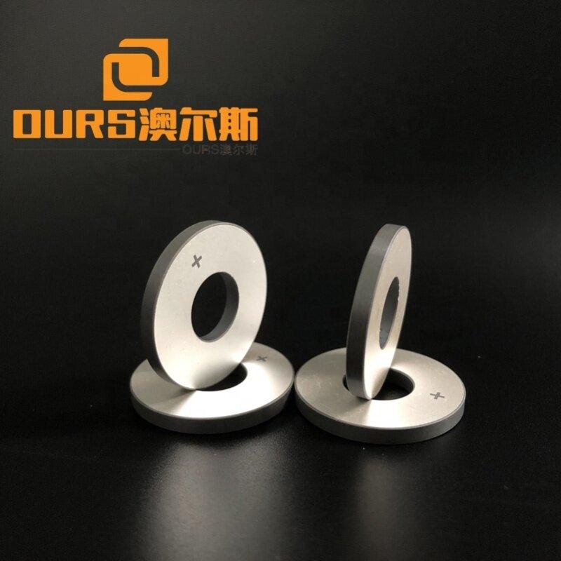 Piezo Ring Ceramic P4 Material 30*12*3MM Industrial Piezoelectric Ceramic Used In Washer