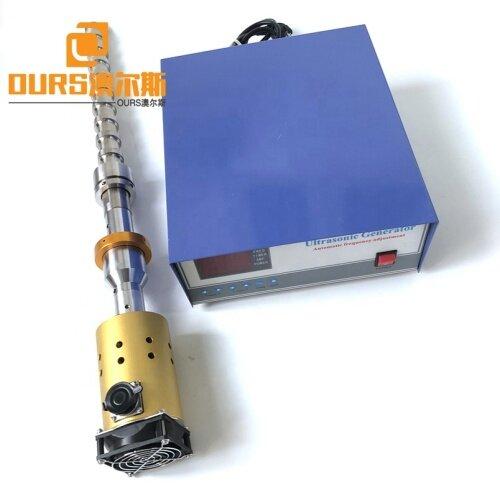 Liquid Mixing 20K 1500W Industrial Ultrasonic Biodiesel Processor Machine Ultrasonic Transducer Reactor Probe And Power