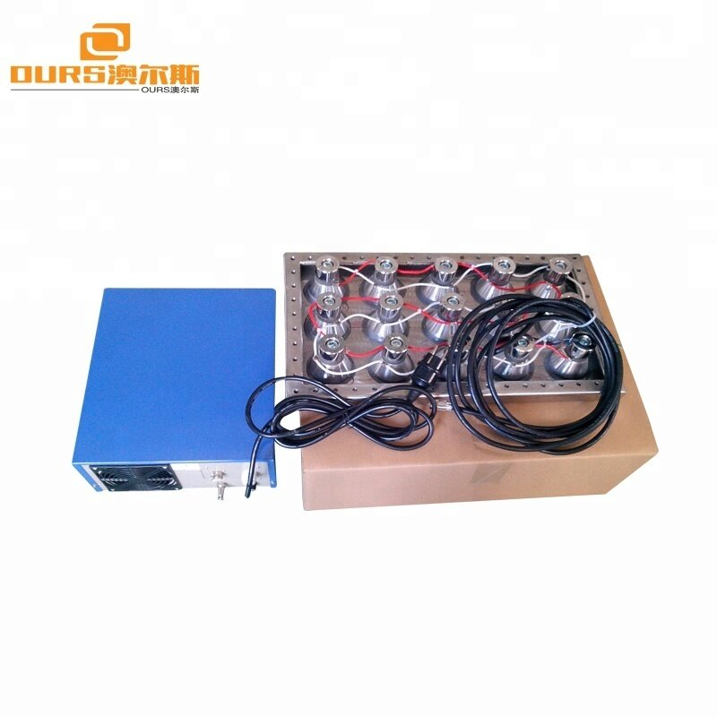 1200W 28KHZ/40KHZ  Power digital ultrasonic generator drive with ultrasonic transducer immersible pack