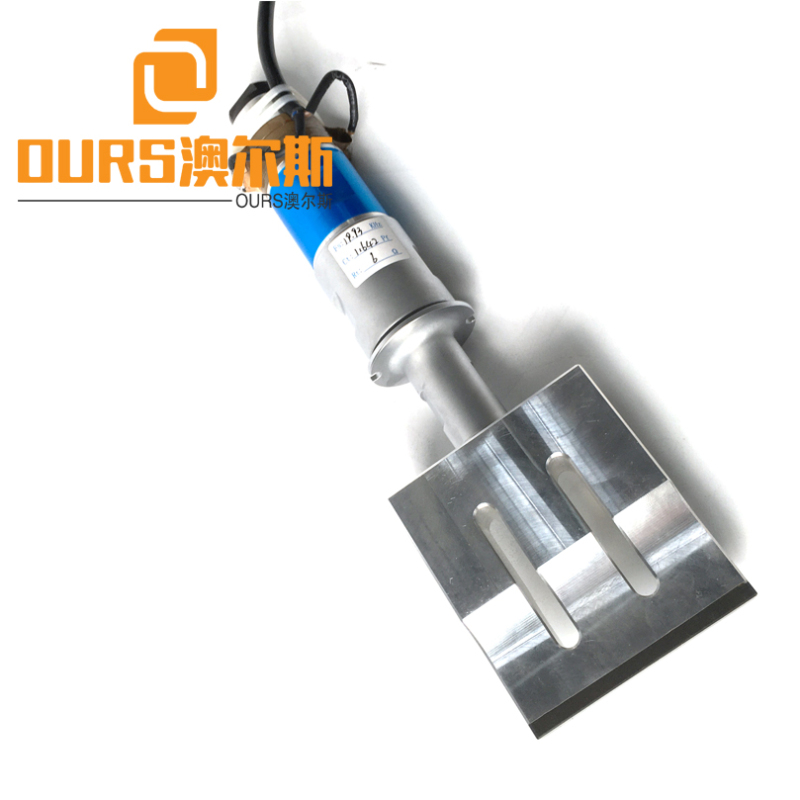 2000W 20KHZ Ultrasonic Generator Transducer Booster Horn For N95 Cup Mask After Process Making Machine