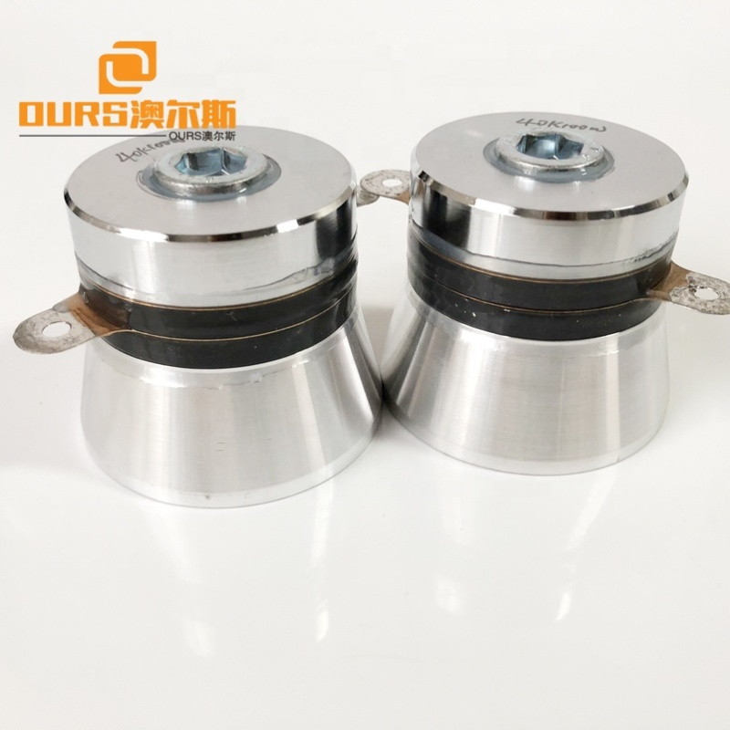 100W High Power Ultrasonic Transducer 40KHz For Industrial Ultrasonic Cleaning Equipment