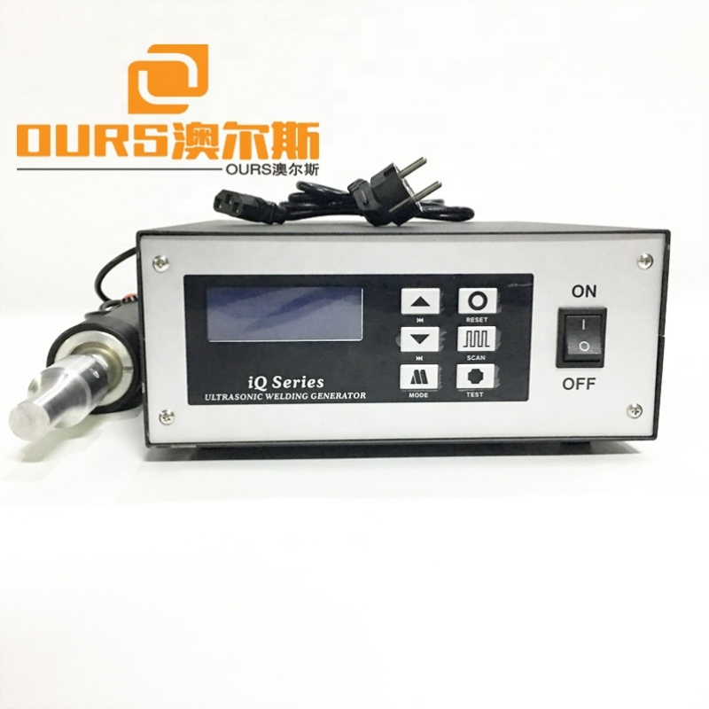 28K 800W High Power Ultrasonic Non-woven Medical Mask Welding Machine With Spot Welding Generator And Transducer