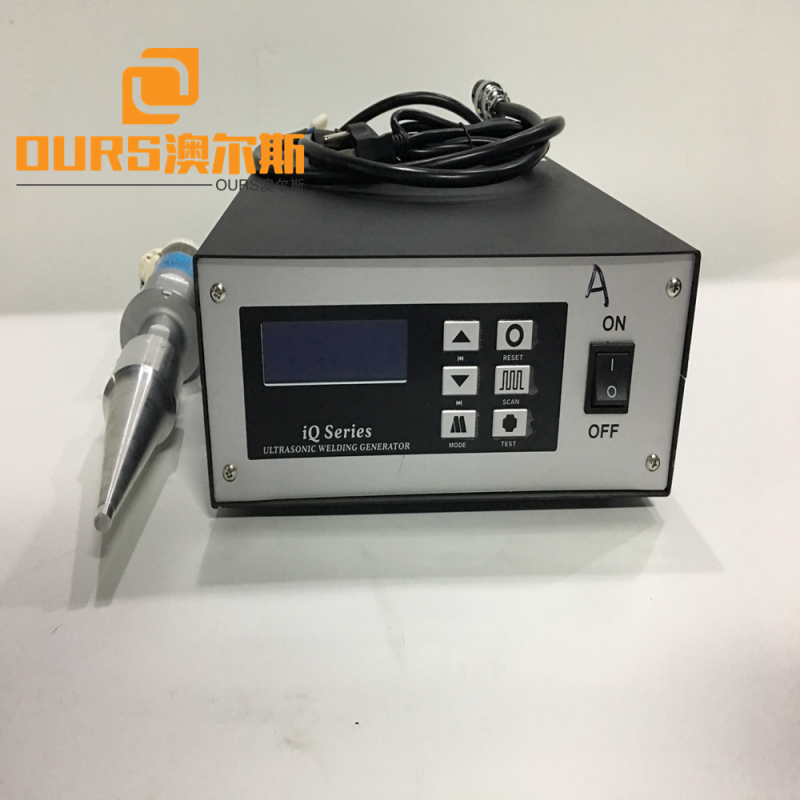 2000w  Ultrasonic Plastic Welding Machine For Electron / Stationery Packaging