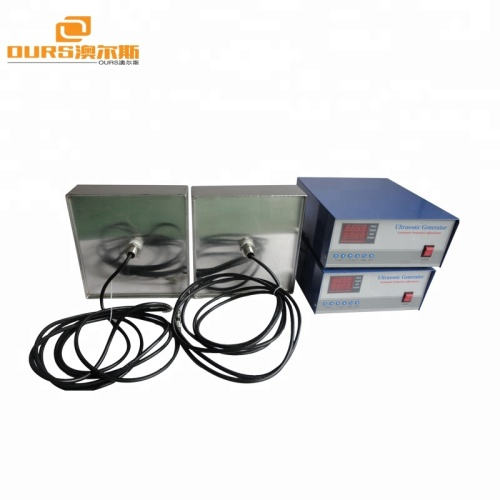 2000W Ultrasonic Immersible Transducer Pack Stainless Steel Customized Various Size Immersible Transducer Ultrasonic Plate