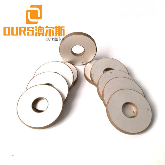 Large Supply 10*5*2mm Ring Shap Piezoelectric Ceramic Materials P8