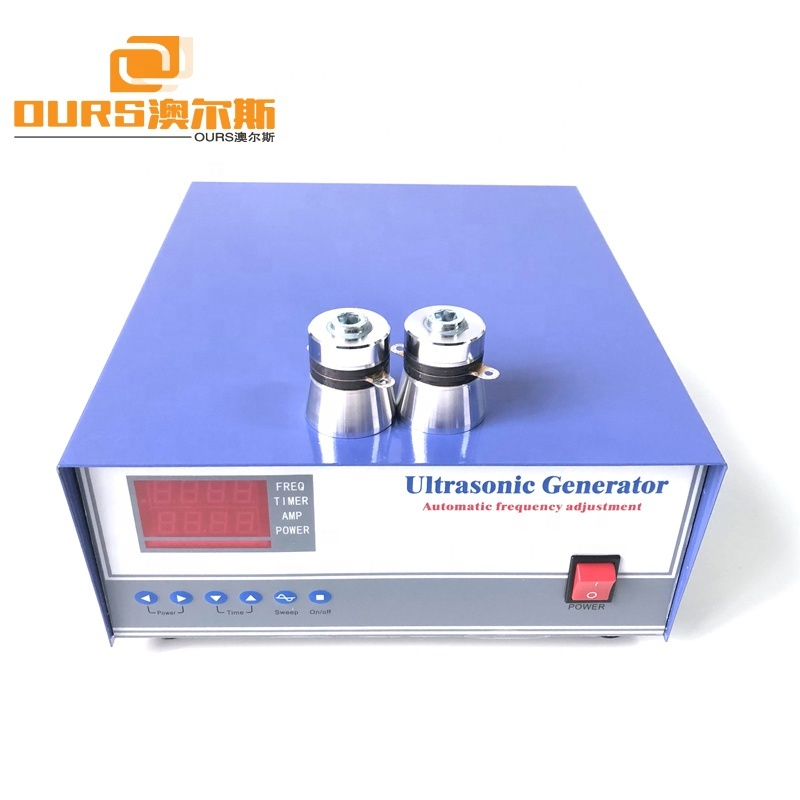 2000W 20K Low Frequency Ultrasonic Cleaning Generator For Reactor Cleaning Equipment