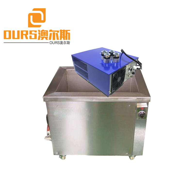 300W 28KHZ/40KHZ Industrial Heated Ultrasonic Cleaner For Cleaning Metal Products