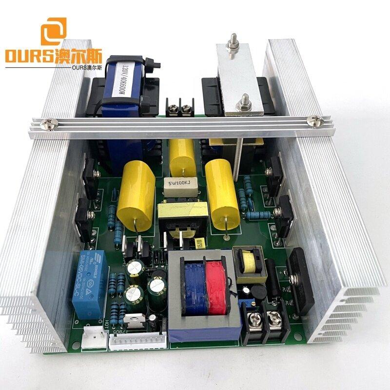 25KHZ 500W Ultrasonic Circuit Generator Board Used On Heated Stainless Steel Soak Cleaning Tank Washing Wrench Lock