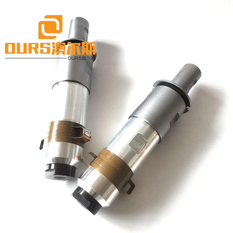 2000w Ultrasonic Transducer Use In 20khz Ultrasonic Welding Machine For Cup-Masks