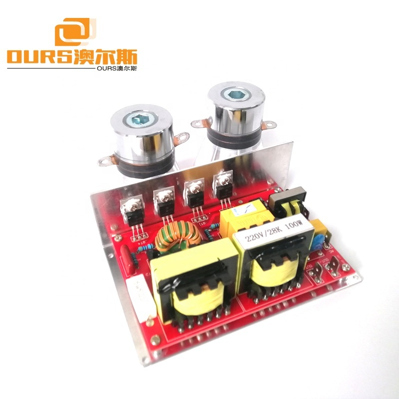 100W Ultrasonic Generator PCB Circuit 28KHz Price Including Matching Transducers,Small Power Drive Circuit Board