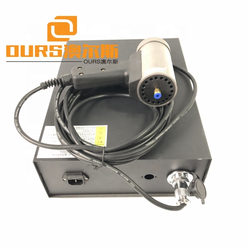 1500W Portable Ultrasonic Cutting Machine With Replaceable Blades For Nonwoven Cloths 20KHZ
