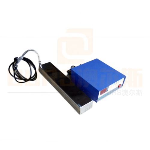 28K Low Power Transducer Vibration Board Immersible Ultrasonic Cleaning Transducer And Generator 300W For Cleaner Tank