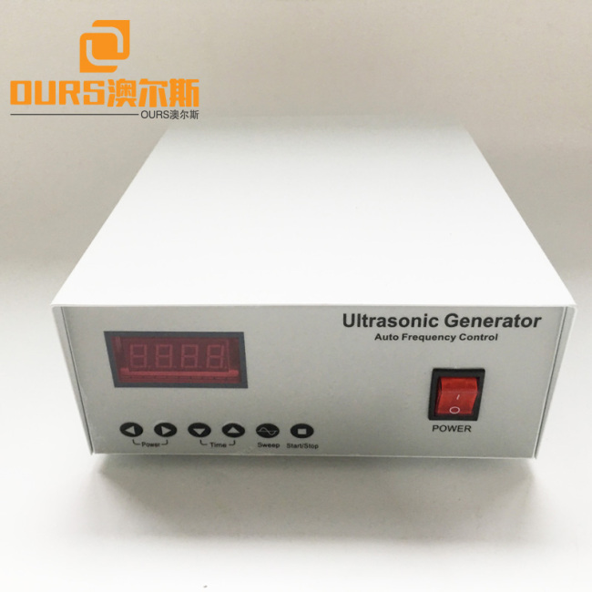 20KHZ-40KHZ Frequency Adjustable 150W Economic Model Ultrasonic Generator With Three Piece 50W Transducer