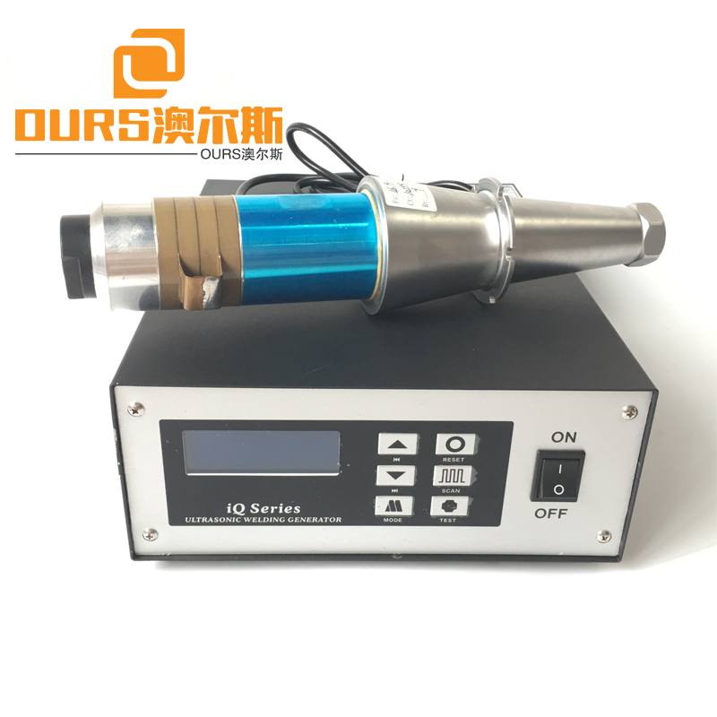 15KHZ/20KHZ 2000W Nonwoven Face Mask Making Machine With Transducer