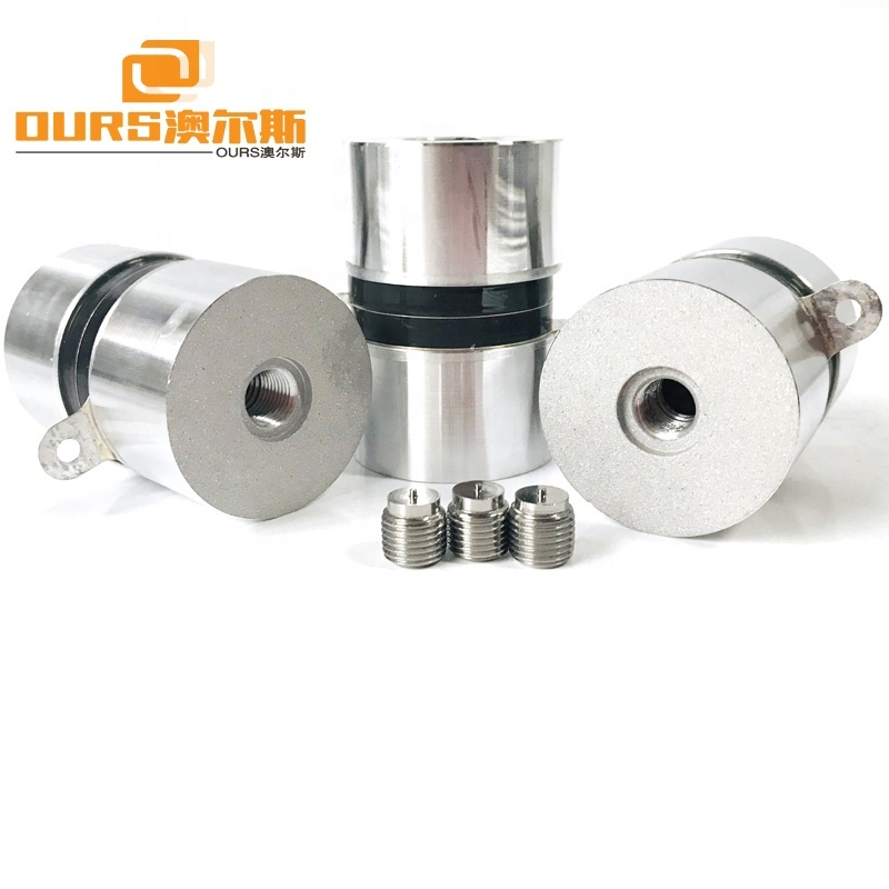 High Frequency Piezo Ceramic Transducer 120KHz 60W For Industrial Ultrasonic Cleaning System