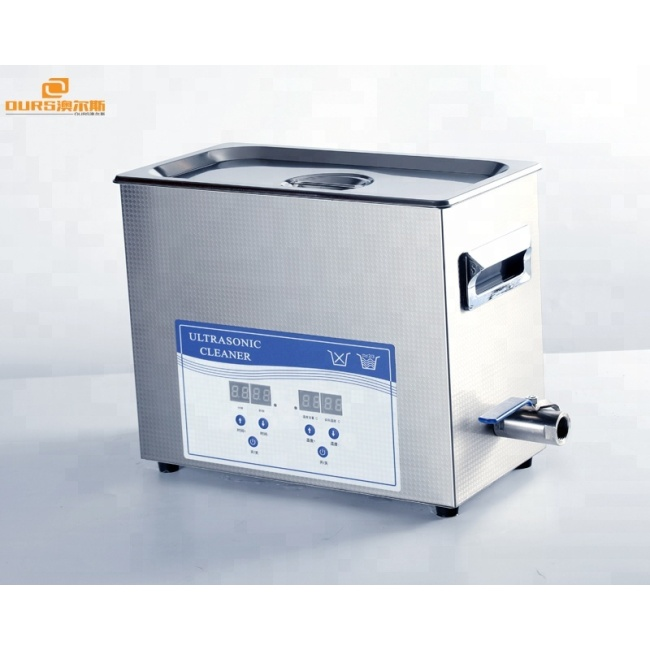 2L Desktop ultrasonic jewelry cleaning machine principle