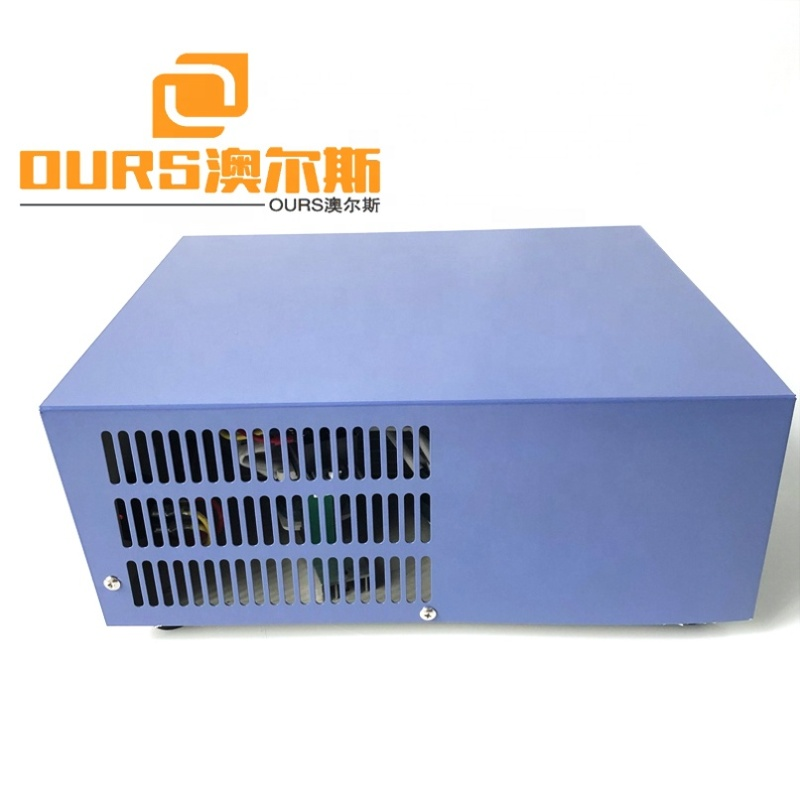 300W-3000W Vibration Cleaner Power Box Ultrasonic Power Driver Board 40KHZ Frequency Adjustable Industrial Cleaning Generator