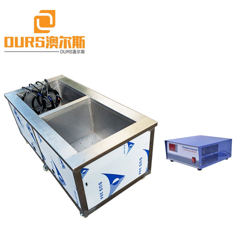 25KHZ/28KHZ 4000W Industrial Ultrasonic Parts Washer With Heating For Cleaning Electroplating Parts