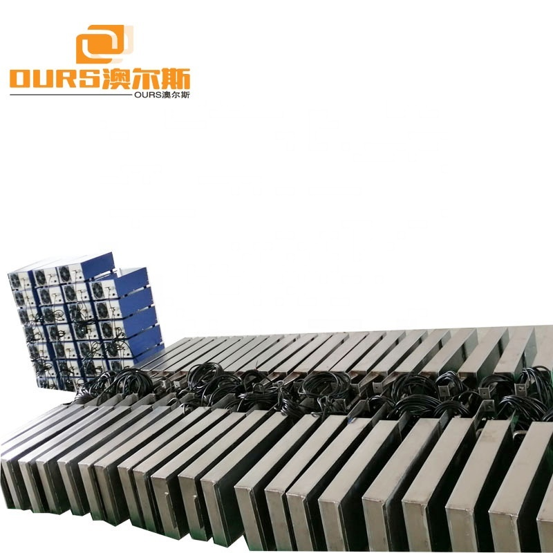 316 Stainless Steel Submersible Ultrasonic Cleaner Board And Ultrasonic Generator Used For Industrial Big Tank