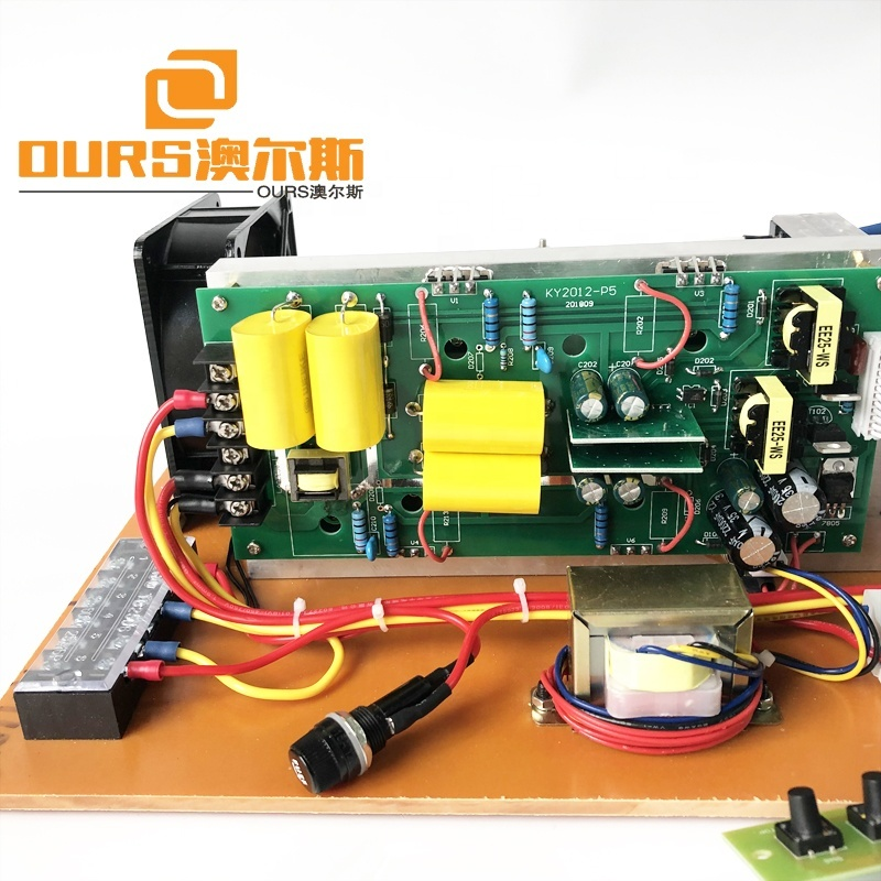 600W Ultrasonic Pulse Generator 40K 110V AC Cleaning PCB Driving Cleaning Piezoelectric Transducer With CE