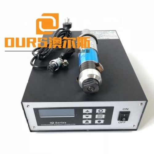 2000W  high power ultrasonic welding generator with 15khz frequency transducer and booster special price