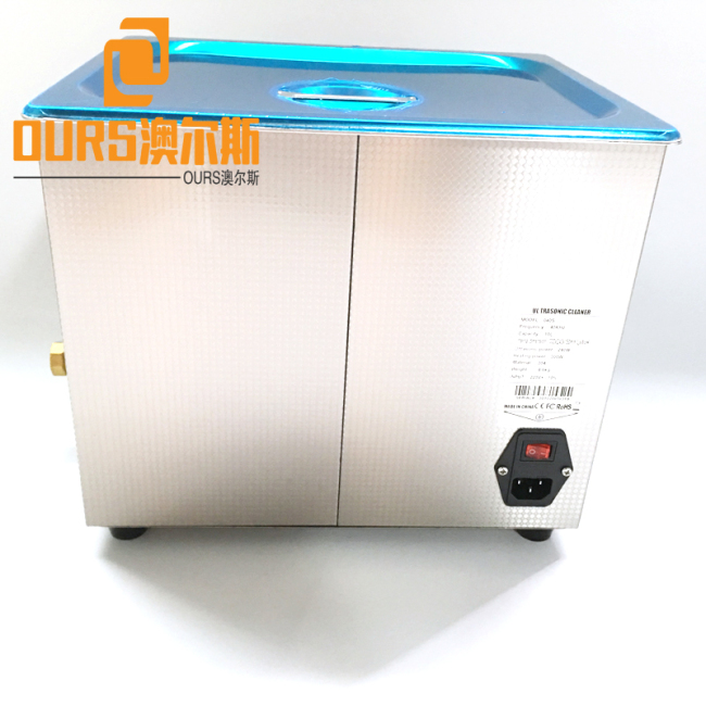 40KHZ 30L Ultrasonic Parts Washer & Cleaner For Electroplate Parts