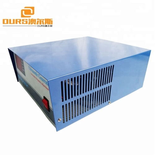 Warranty 1 Year 28khz/40khz 600W Dual Frequency Ultrasonic Cleaning Generator With CE Certification