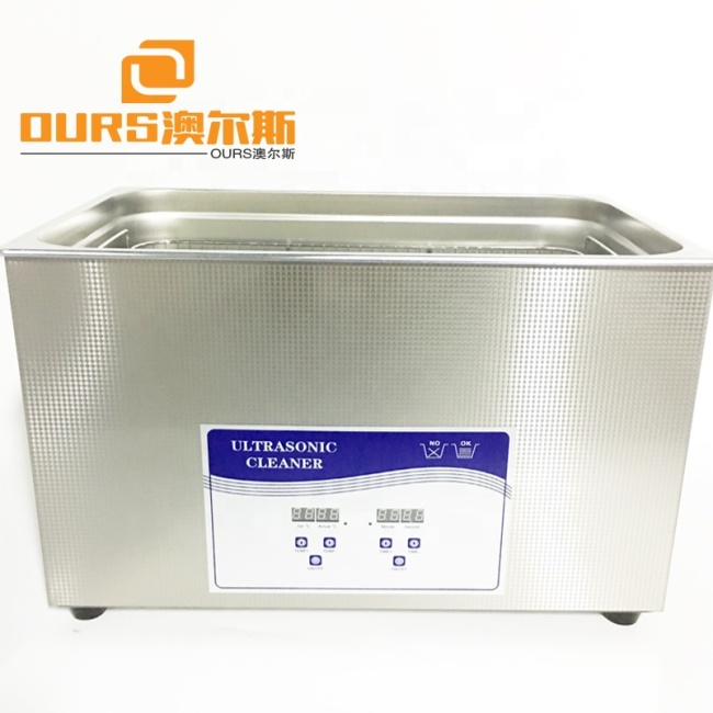 1.3L Table type Ultrasonic Cleaner performance design Ultrasonic Cleaning machine Generator ultrasonic washer