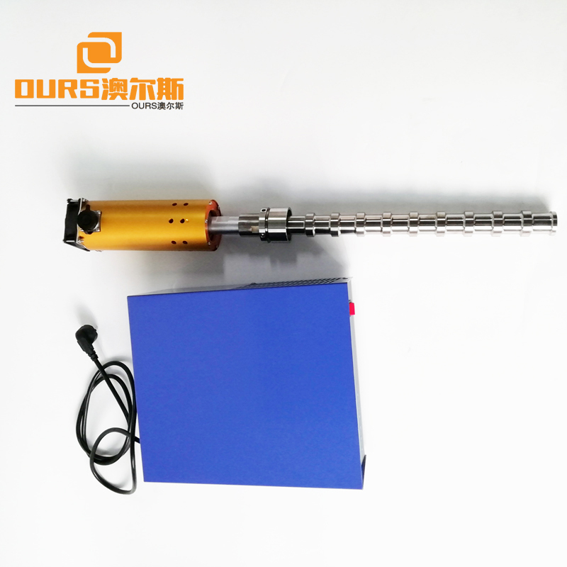 600W Topright Stainless Steel Electric Flange Immersion Tubular  With Ultrasonic Cleaning Generator