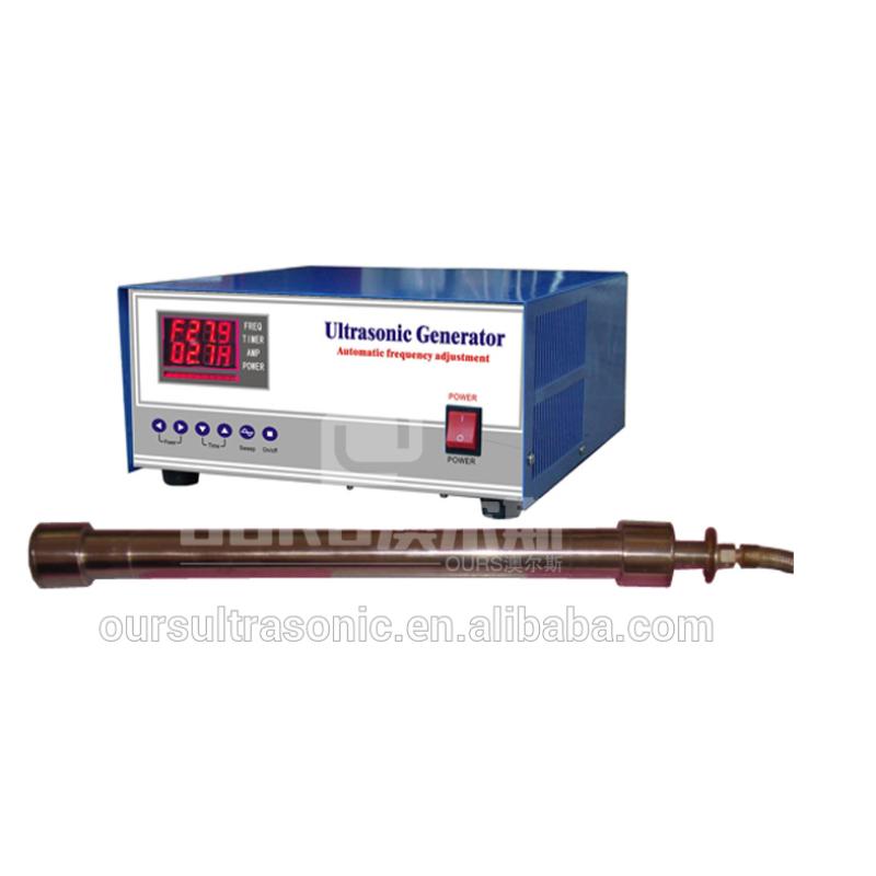 1500W Ultrasonic tubular equipment ultrasonic tube reactor ultrasonic cleaning transducer for Pipeline cleaning