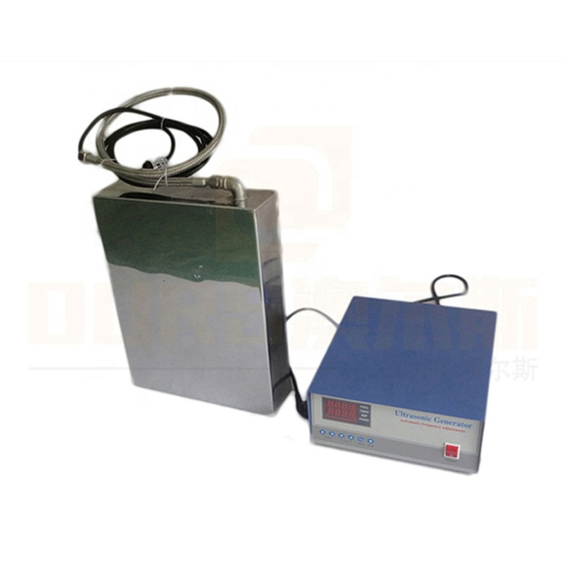 Industry Cleaner Accessories Underwater Ultrasonic Cleaning Transducer/Vibrator Box For Wastewater Treatment Facilities